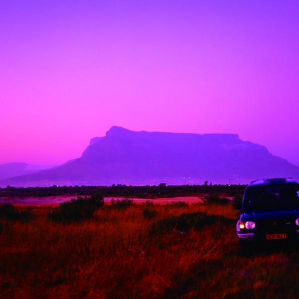 南アフリカ テーブルマウンテン