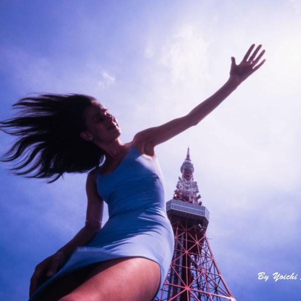 東京タワー下のお嬢さん